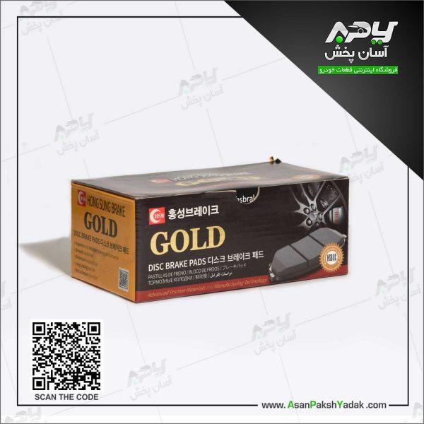 لنت ترمز پژو 405 گلد GOLD کره جنوبی